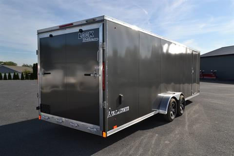 2020 Look Trailers 7x29 Avalanche Aluminum Enclosed Snowmobile Trailer 7K +6 in Harrisburg, Pennsylvania - Photo 6