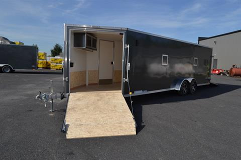 2020 Look Trailers 7x29 Avalanche Aluminum Enclosed Snowmobile Trailer 7K +6 in Harrisburg, Pennsylvania - Photo 20