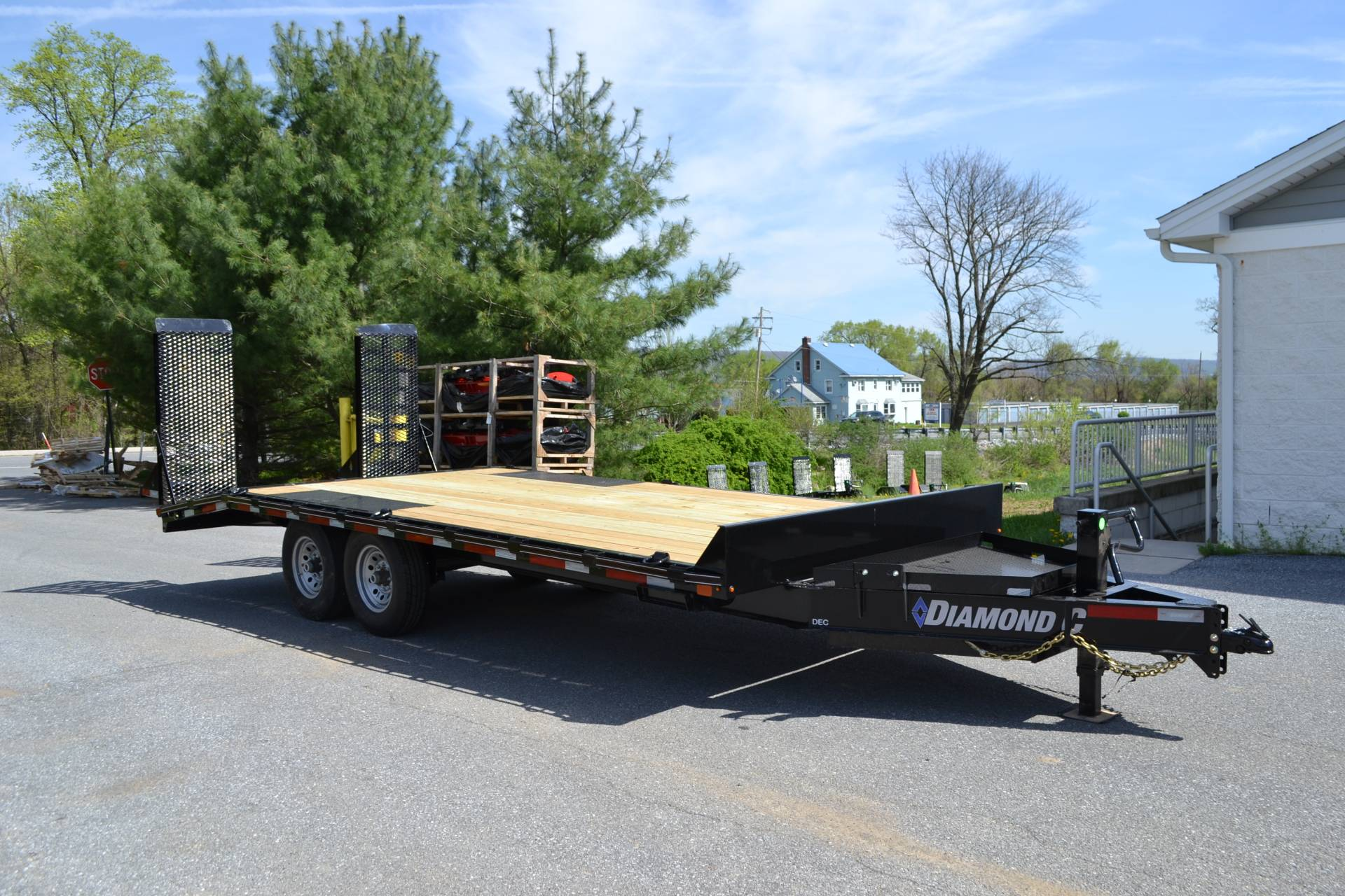 2019 Diamond C 20x102 DEC Equipment Trailer XWR in Harrisburg, Pennsylvania - Photo 1