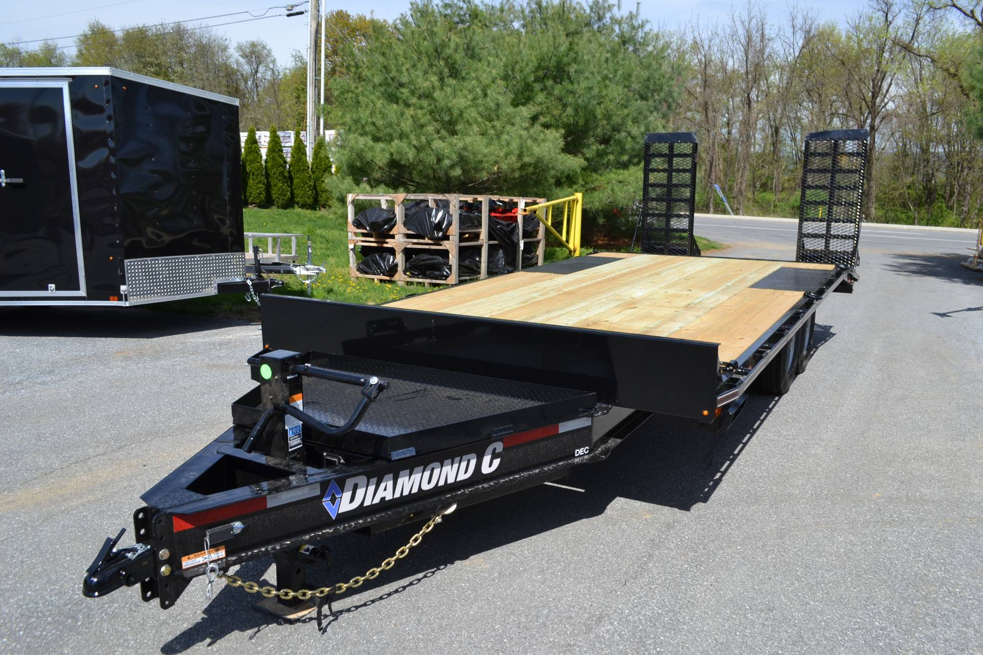 2019 Diamond C 20x102 DEC Equipment Trailer XWR in Harrisburg, Pennsylvania - Photo 8