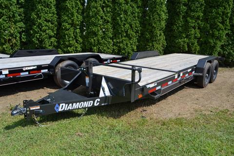 2019 Diamond C 22X82 45HDT Equipment Trailer in Harrisburg, Pennsylvania