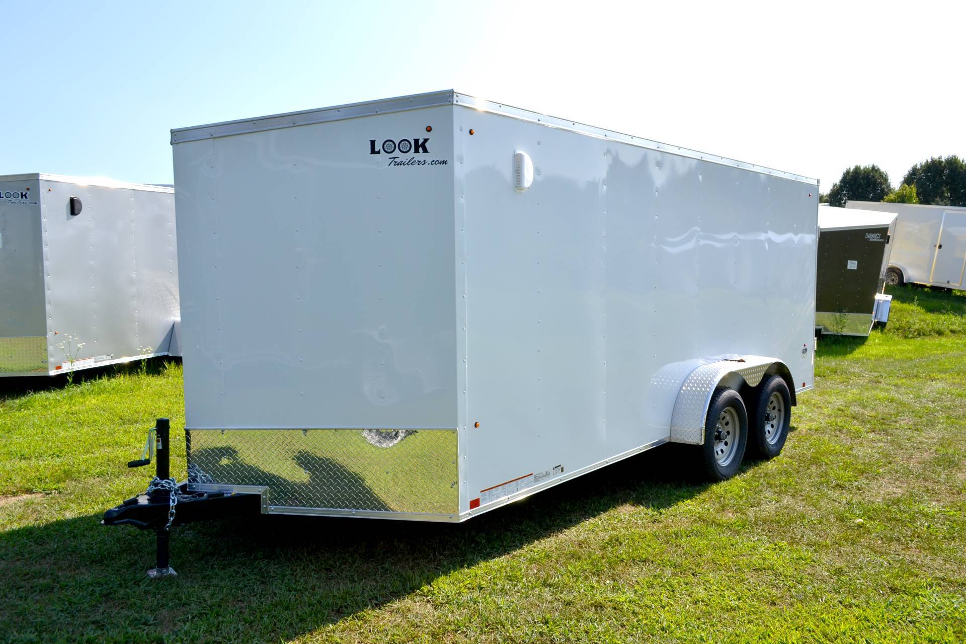 2019 Look Trailers 7X16 STDLX Cargo Trailer Double Door in Harrisburg, Pennsylvania - Photo 13