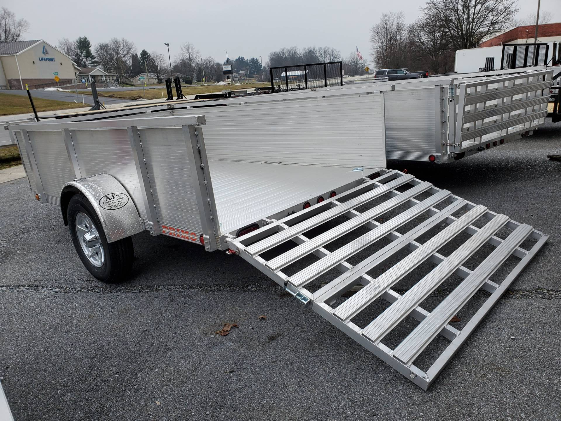 2021 Primo 72x10 Single Axle Utility – 26 High Solid Side in Harrisburg, Pennsylvania - Photo 10