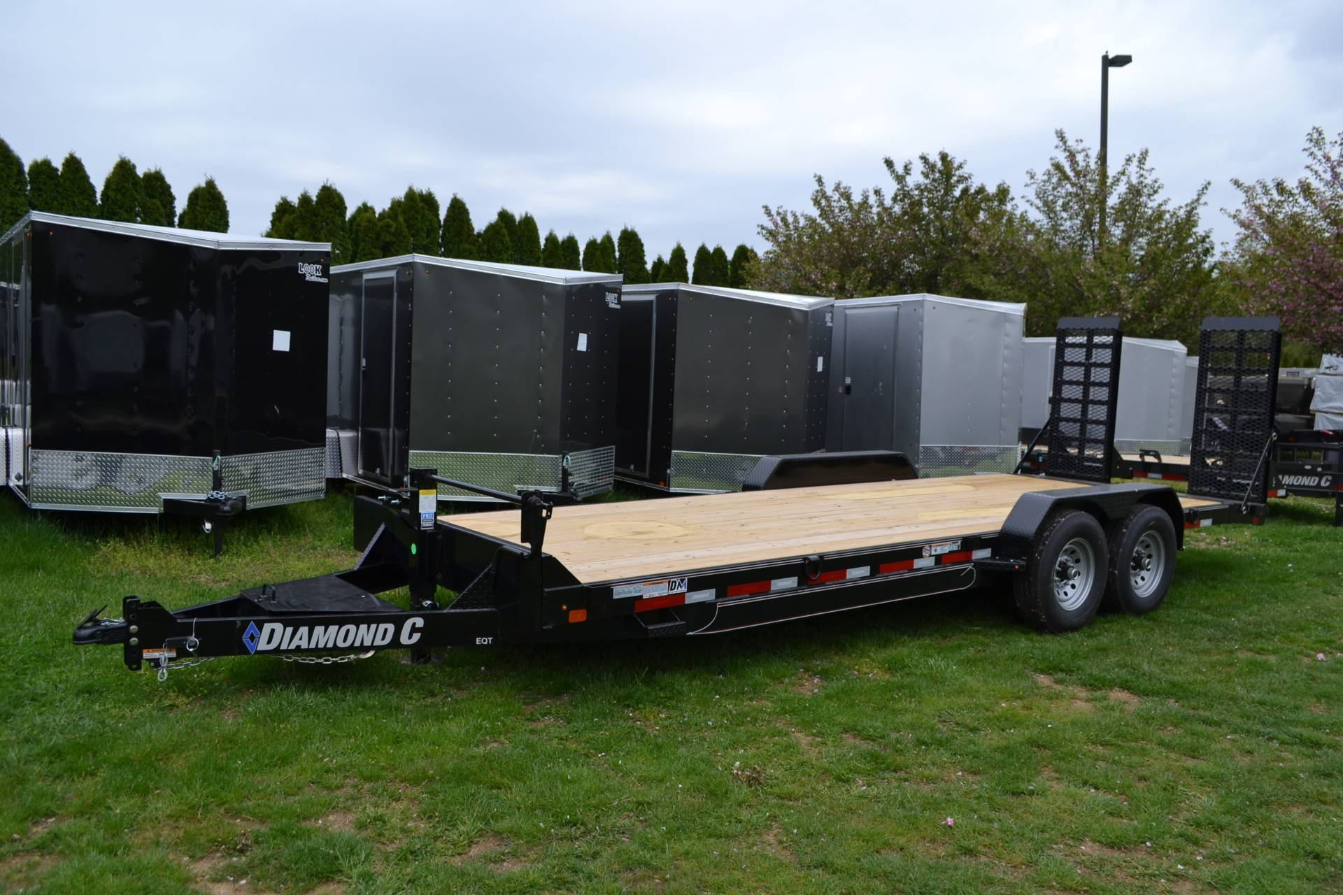 2021 Diamond C 24X82 EQT Equipment Trailer 14K XWR in Harrisburg, Pennsylvania - Photo 9