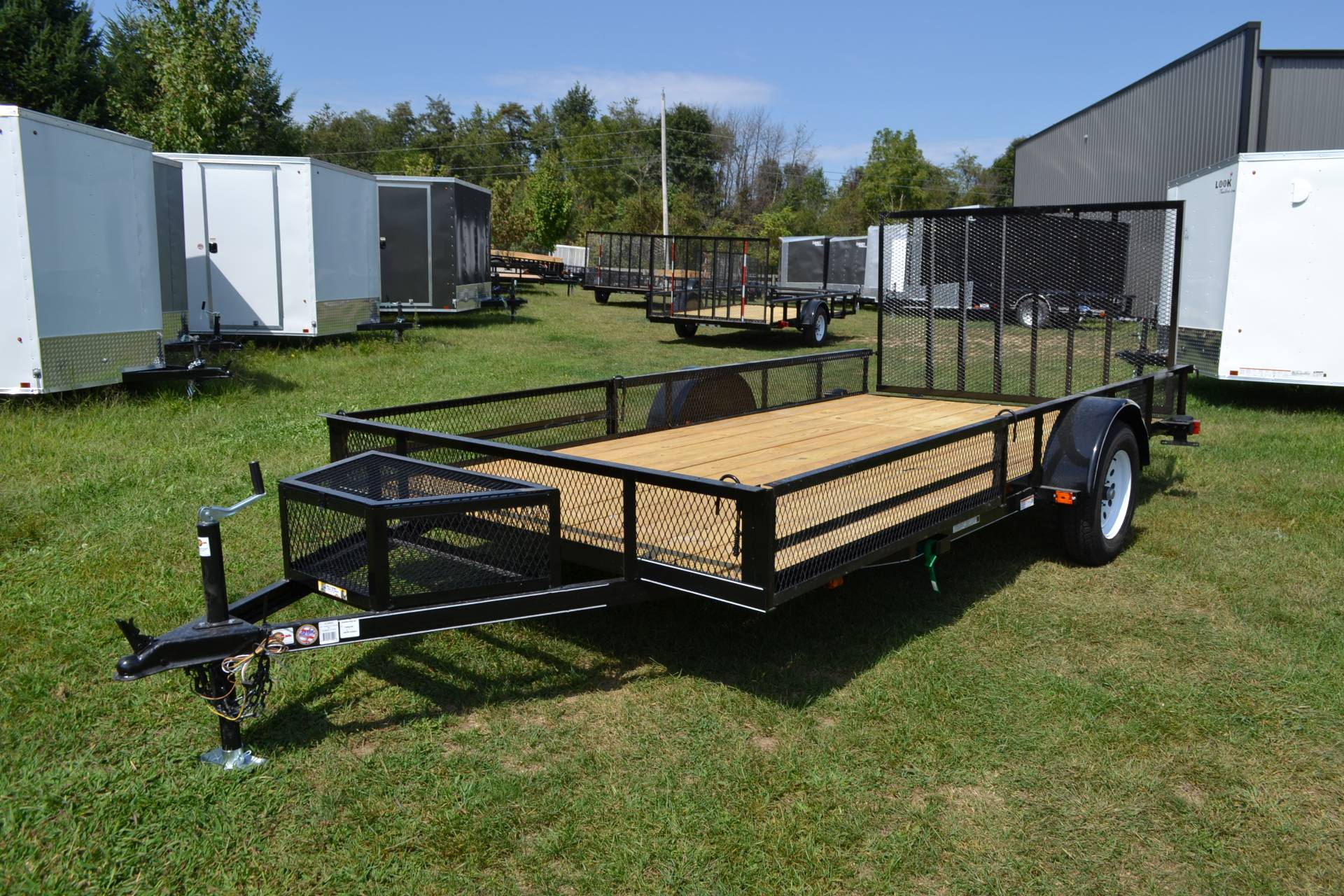 2020 Carry-On Trailers 7x14 Utility ATV Trailer 3K in Harrisburg, Pennsylvania - Photo 1