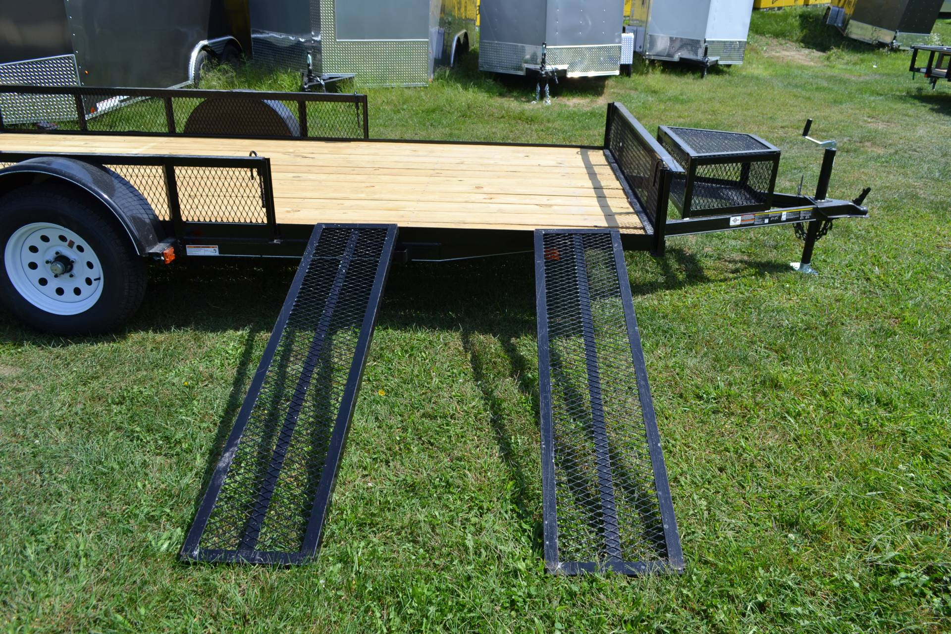 2020 Carry-On Trailers 7x14 Utility ATV Trailer 3K in Harrisburg, Pennsylvania - Photo 4