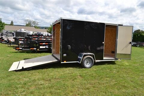 2021 Look Trailers 7X12 STDLX Cargo Trailer Ramp +6 in Harrisburg, Pennsylvania - Photo 9
