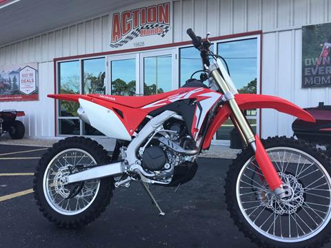 2017 Honda CRF450RX in Hudson, Florida - Photo 1