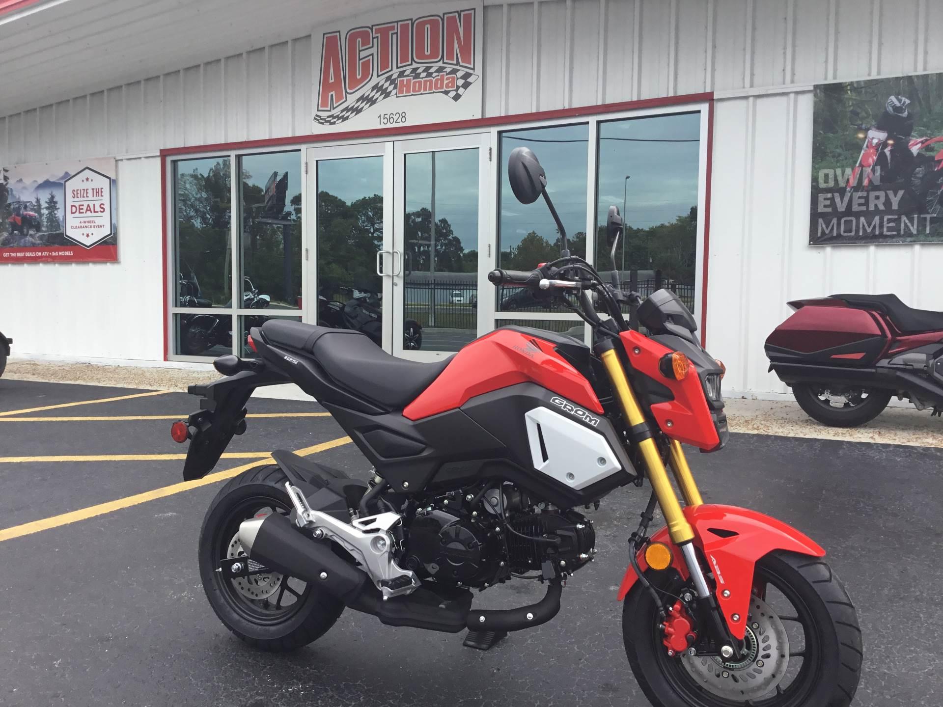 2019 Honda Grom ABS in Hudson, Florida