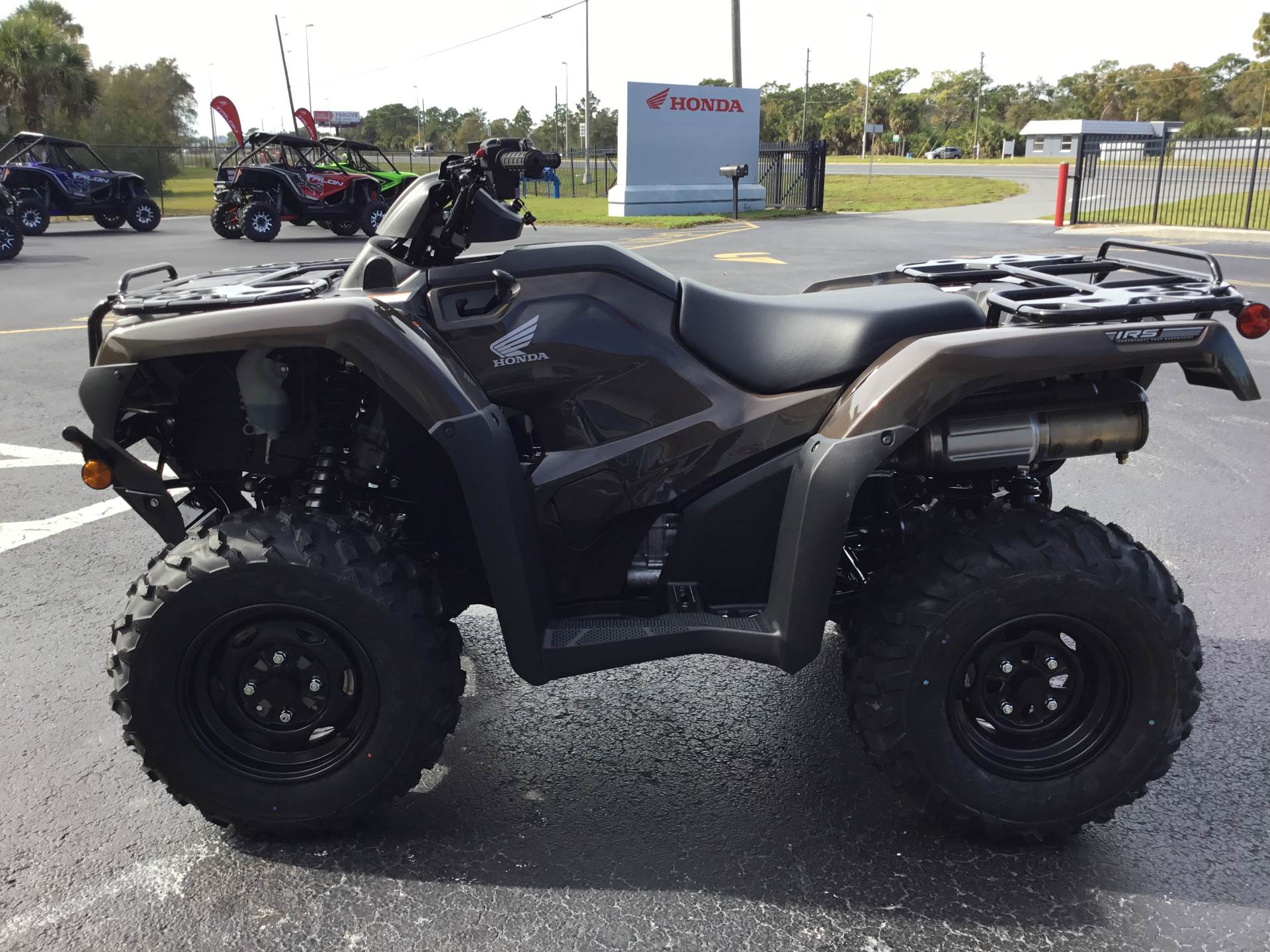 2020 Honda FourTrax Rancher 4x4 Automatic DCT IRS EPS in Hudson, Florida - Photo 8