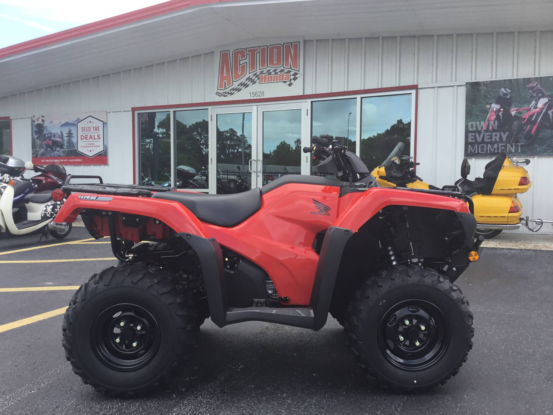2020 Honda FourTrax Rancher 4x4 Automatic DCT IRS in Hudson, Florida - Photo 1
