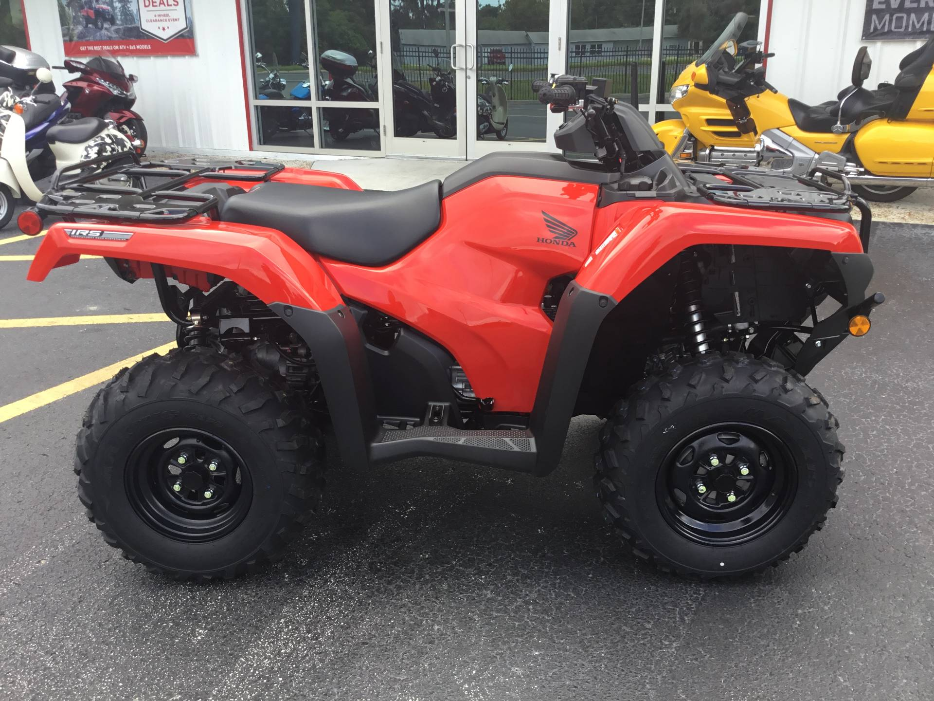 2020 Honda FourTrax Rancher 4x4 Automatic DCT IRS in Hudson, Florida - Photo 3