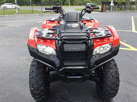 2020 Honda FourTrax Rancher 4x4 Automatic DCT IRS in Hudson, Florida - Photo 5