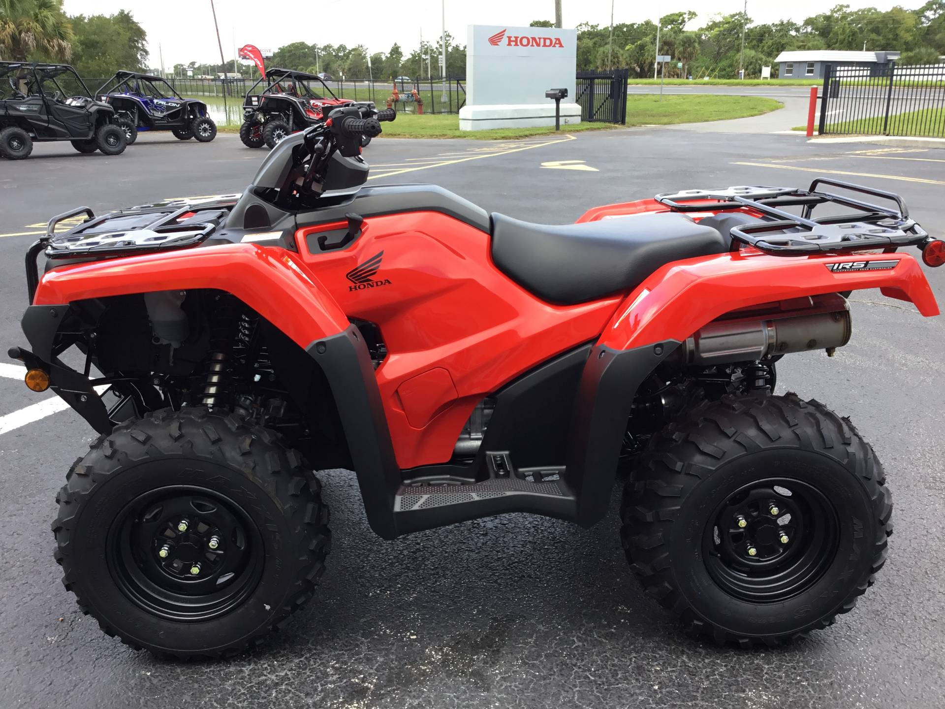 2020 Honda FourTrax Rancher 4x4 Automatic DCT IRS in Hudson, Florida - Photo 7