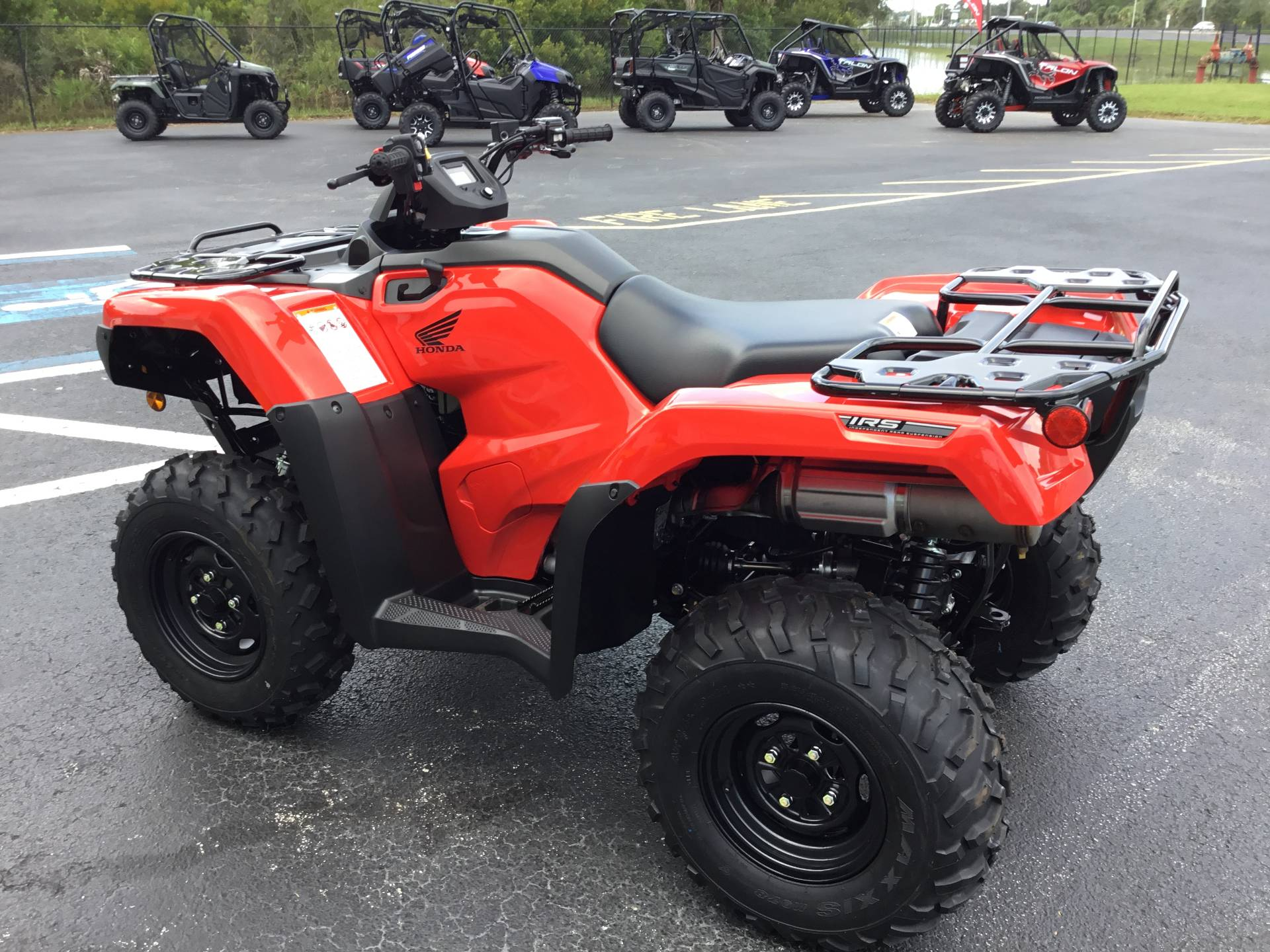 2020 Honda FourTrax Rancher 4x4 Automatic DCT IRS in Hudson, Florida - Photo 8