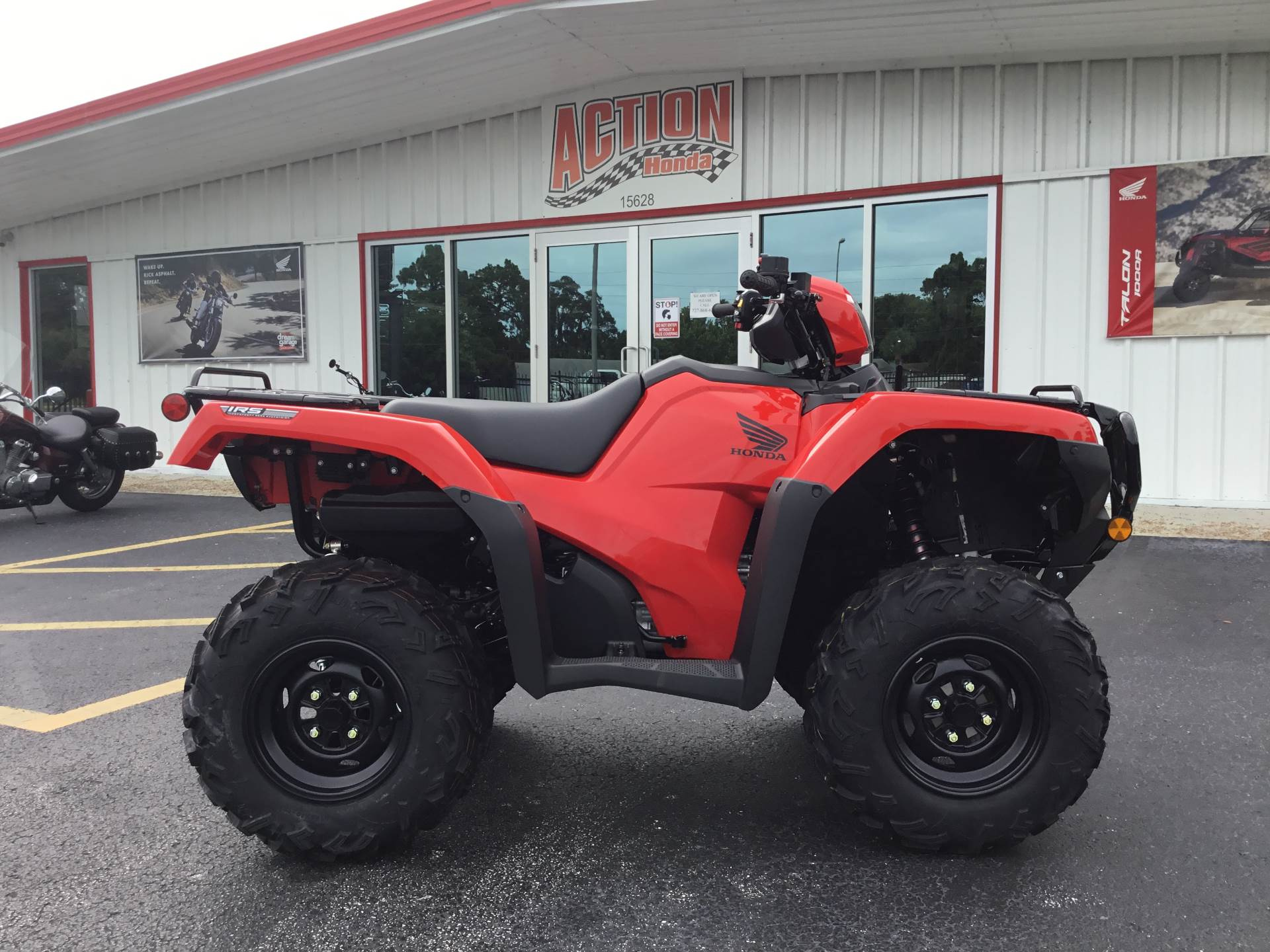 2021 Honda FourTrax Foreman Rubicon 4x4 Automatic DCT in Hudson, Florida - Photo 16