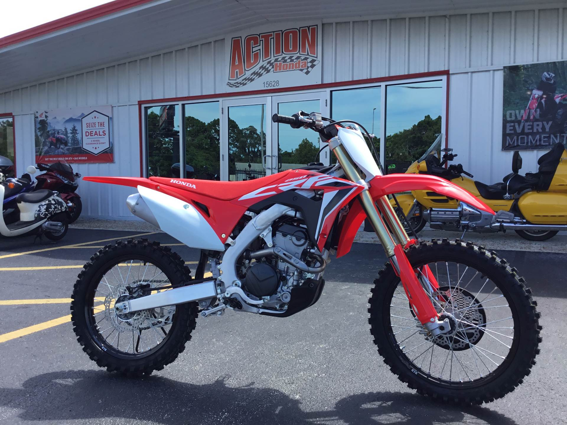 2020 Honda CRF250R in Hudson, Florida - Photo 1