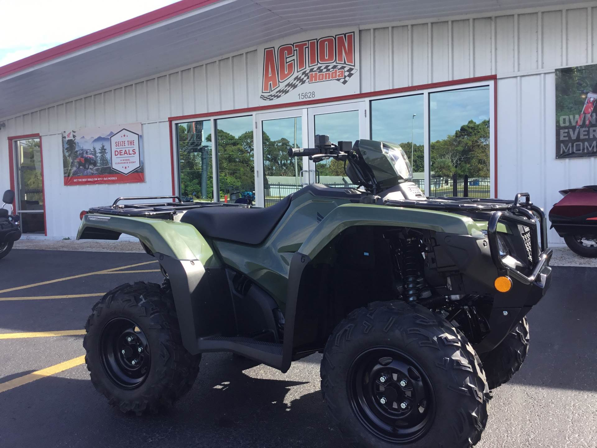 2019 Honda FourTrax Foreman Rubicon 4x4 EPS in Hudson, Florida - Photo 1