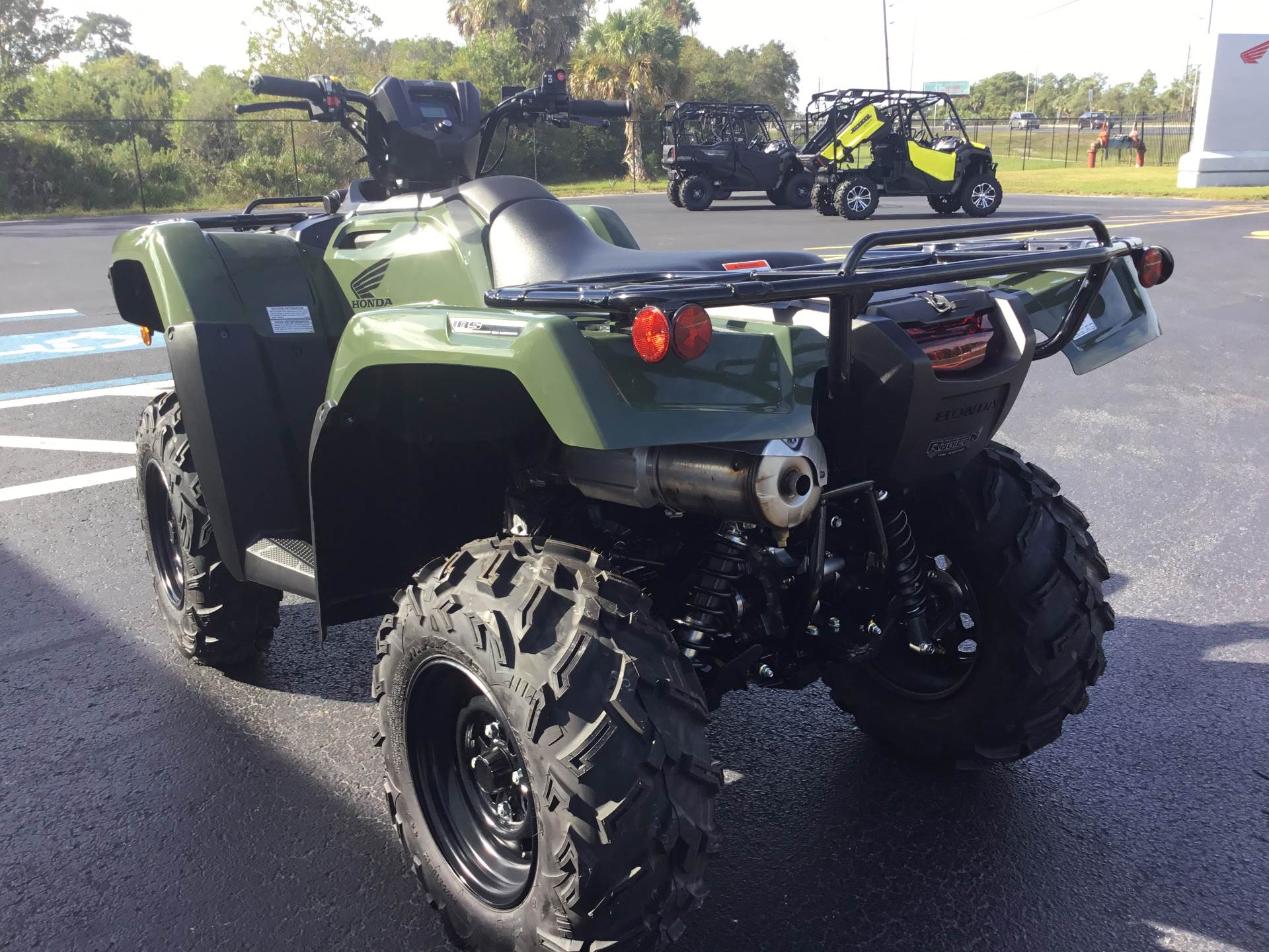 2019 Honda FourTrax Foreman Rubicon 4x4 EPS in Hudson, Florida - Photo 7