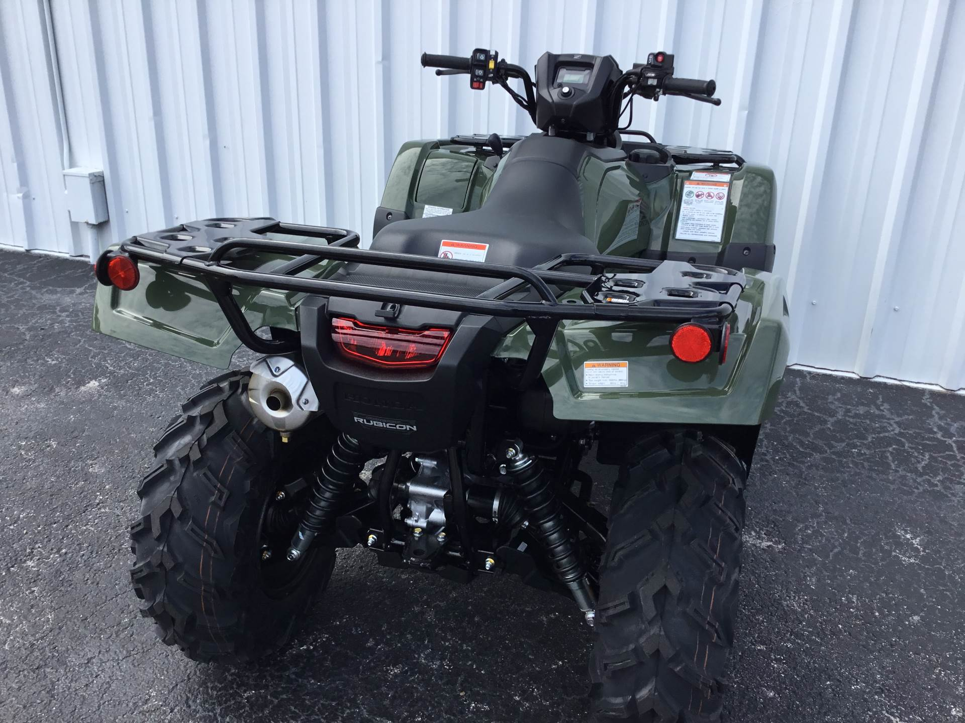 2020 Honda FourTrax Foreman Rubicon 4x4 Automatic DCT EPS in Hudson, Florida - Photo 10