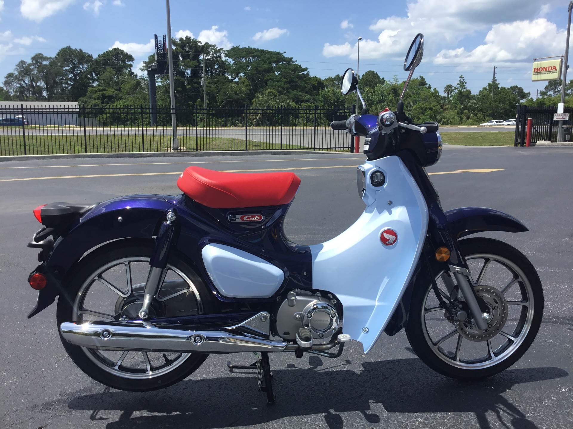 2019 Honda Super Cub C125 ABS in Hudson, Florida - Photo 10