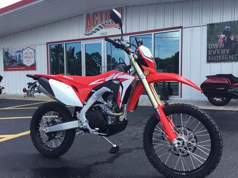 2019 Honda CRF450L in Hudson, Florida