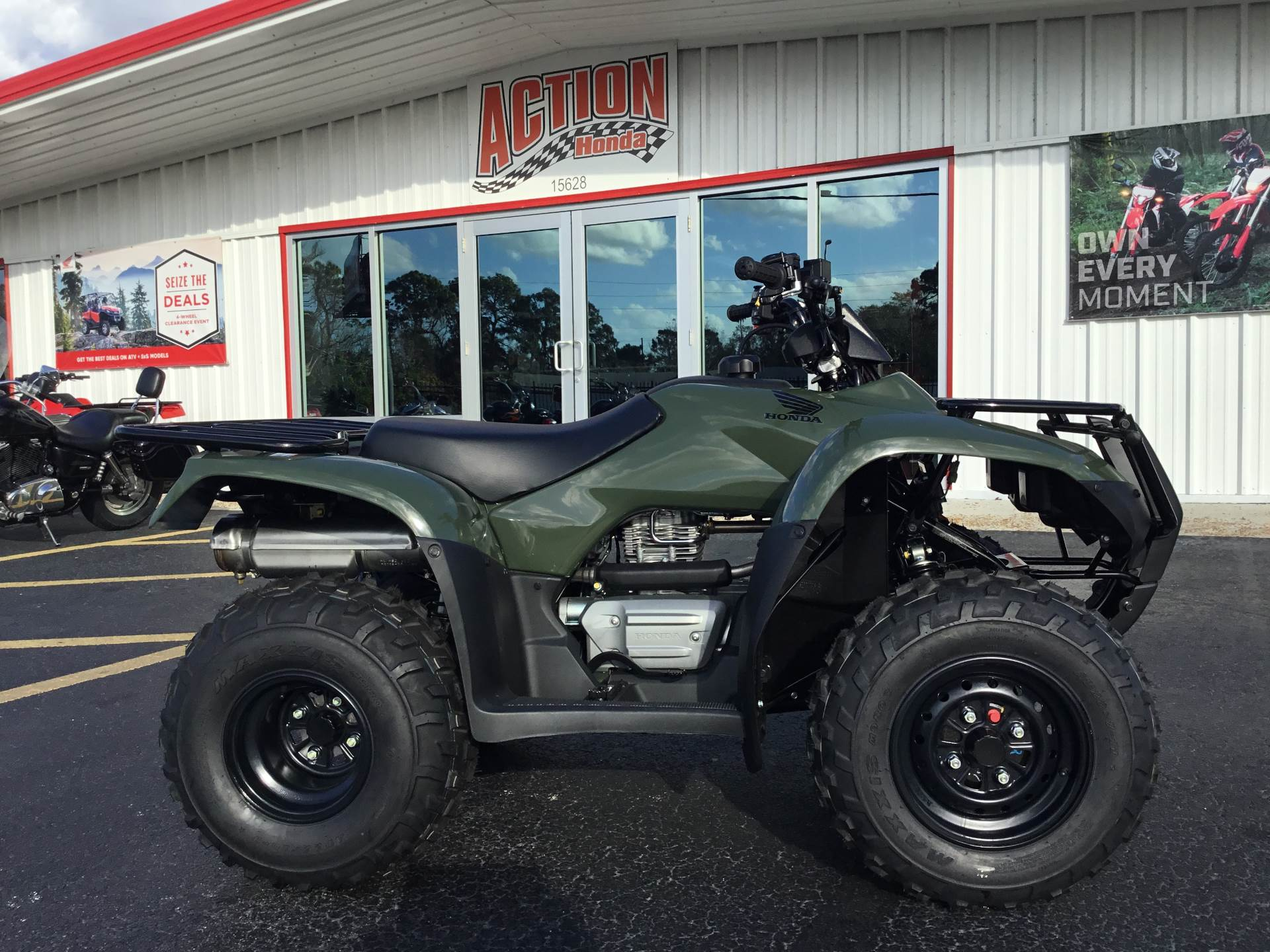 2018 Honda FourTrax Recon ES in Hudson, Florida - Photo 1