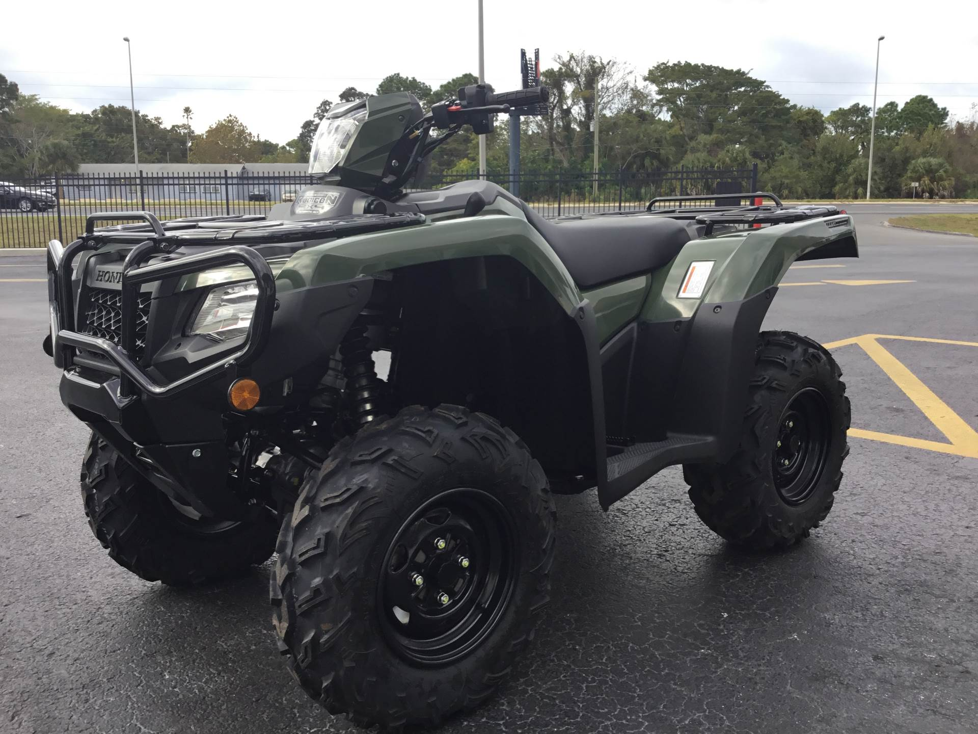 2019 Honda FourTrax Foreman Rubicon 4x4 Automatic DCT EPS in Hudson, Florida - Photo 5
