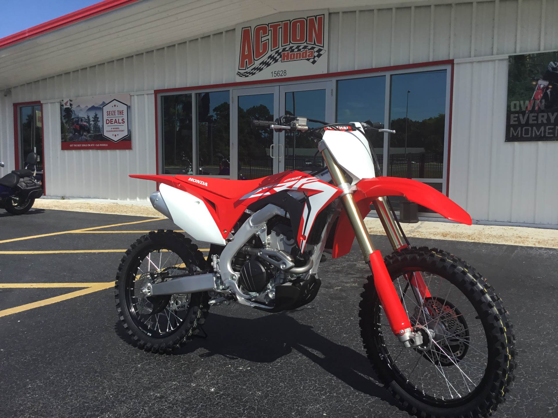 2019 Honda CRF250R in Hudson, Florida - Photo 1