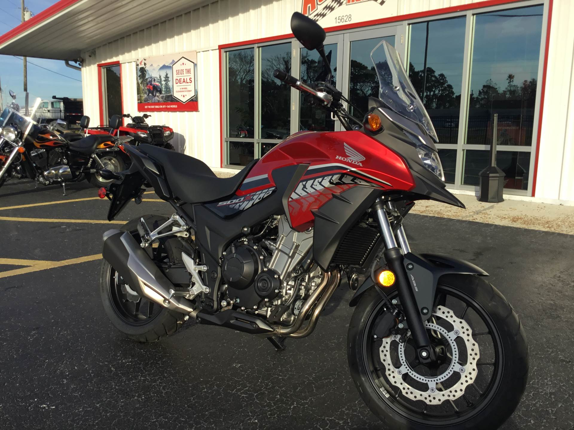 2017 Honda CB500X ABS in Hudson, Florida - Photo 2