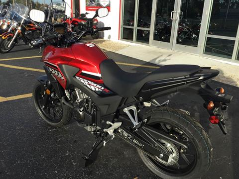 2017 Honda CB500X ABS in Hudson, Florida - Photo 8