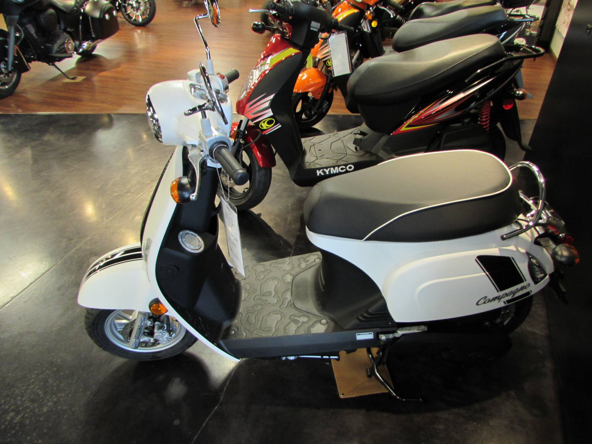 2017 Kymco Compagno 110i in Pasco, Washington