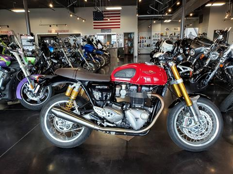2016 Triumph Thruxton 1200 R in Pasco, Washington