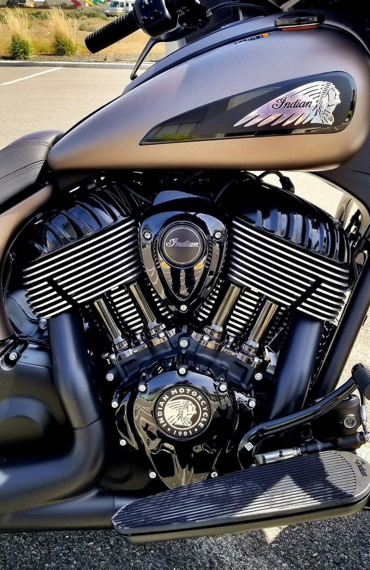 2019 Indian Chieftain® Dark Horse® ABS in Pasco, Washington - Photo 8