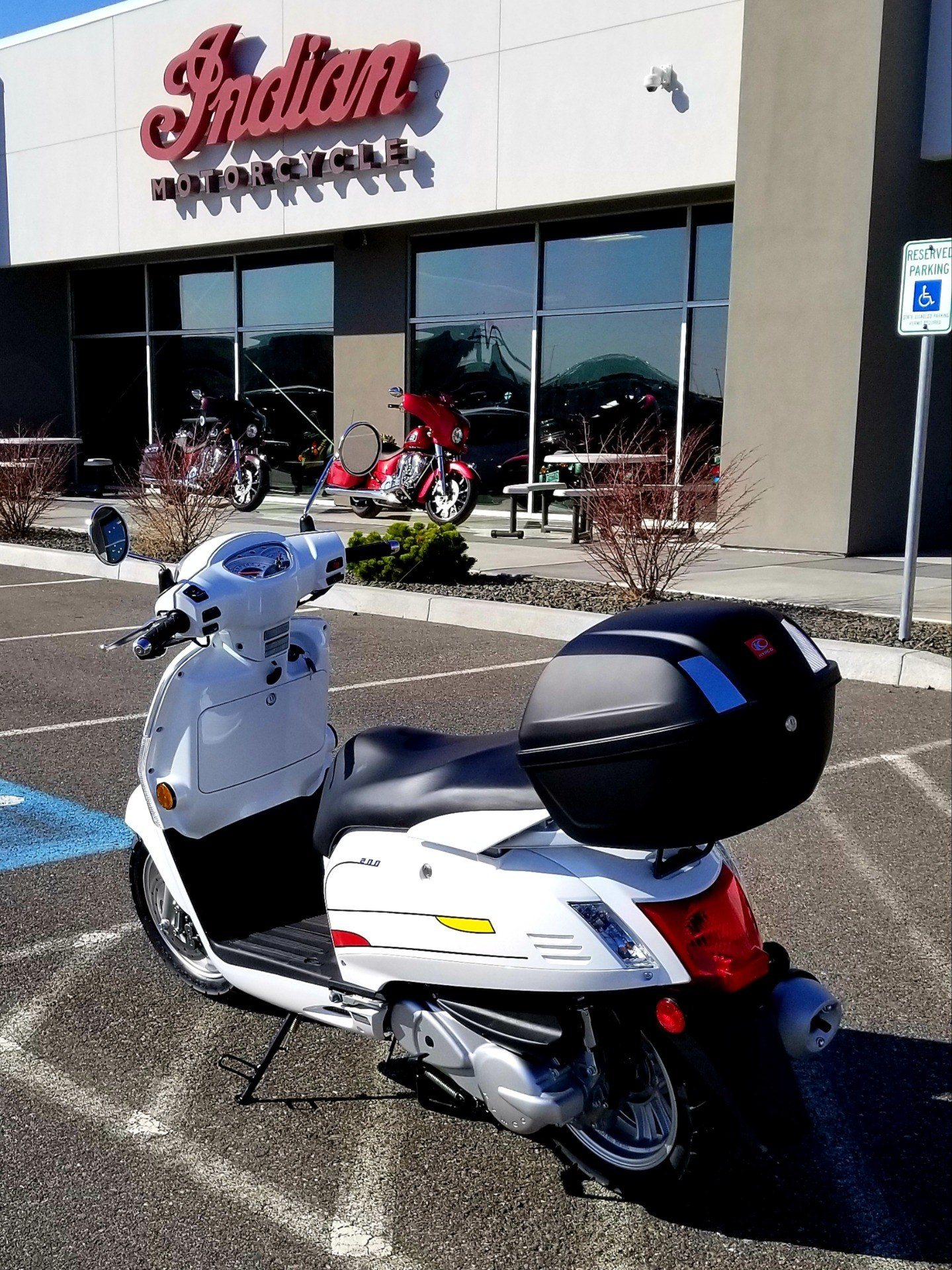 2020 Kymco Like 200i Limited Edition in Pasco, Washington - Photo 2