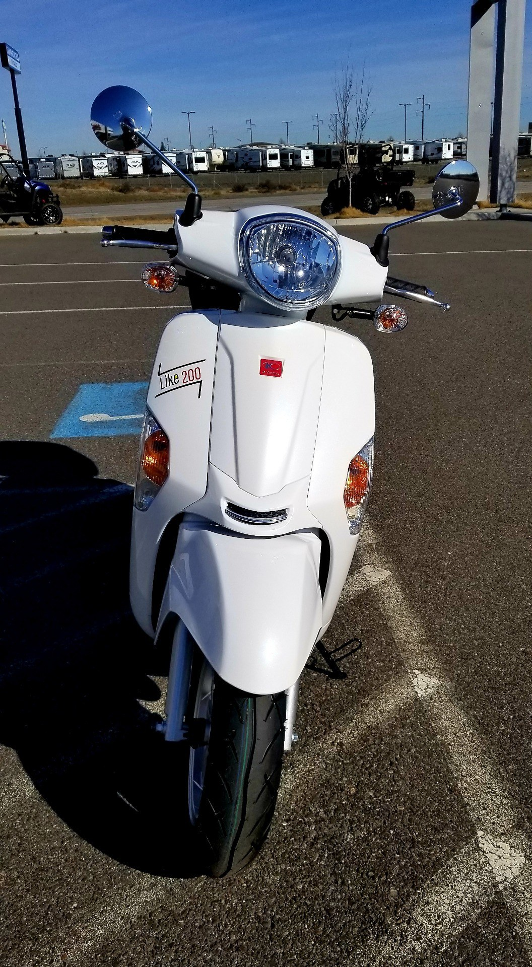 2020 Kymco Like 200i Limited Edition in Pasco, Washington - Photo 7