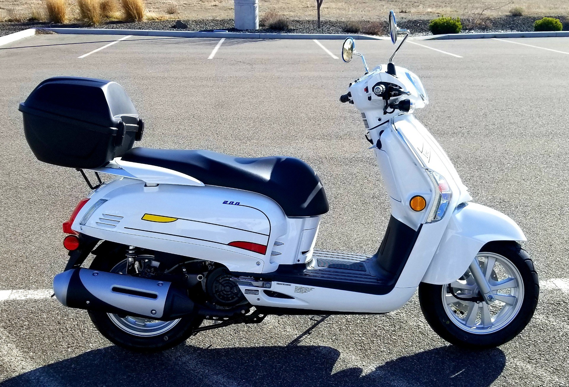 2020 Kymco Like 200i Limited Edition in Pasco, Washington - Photo 5