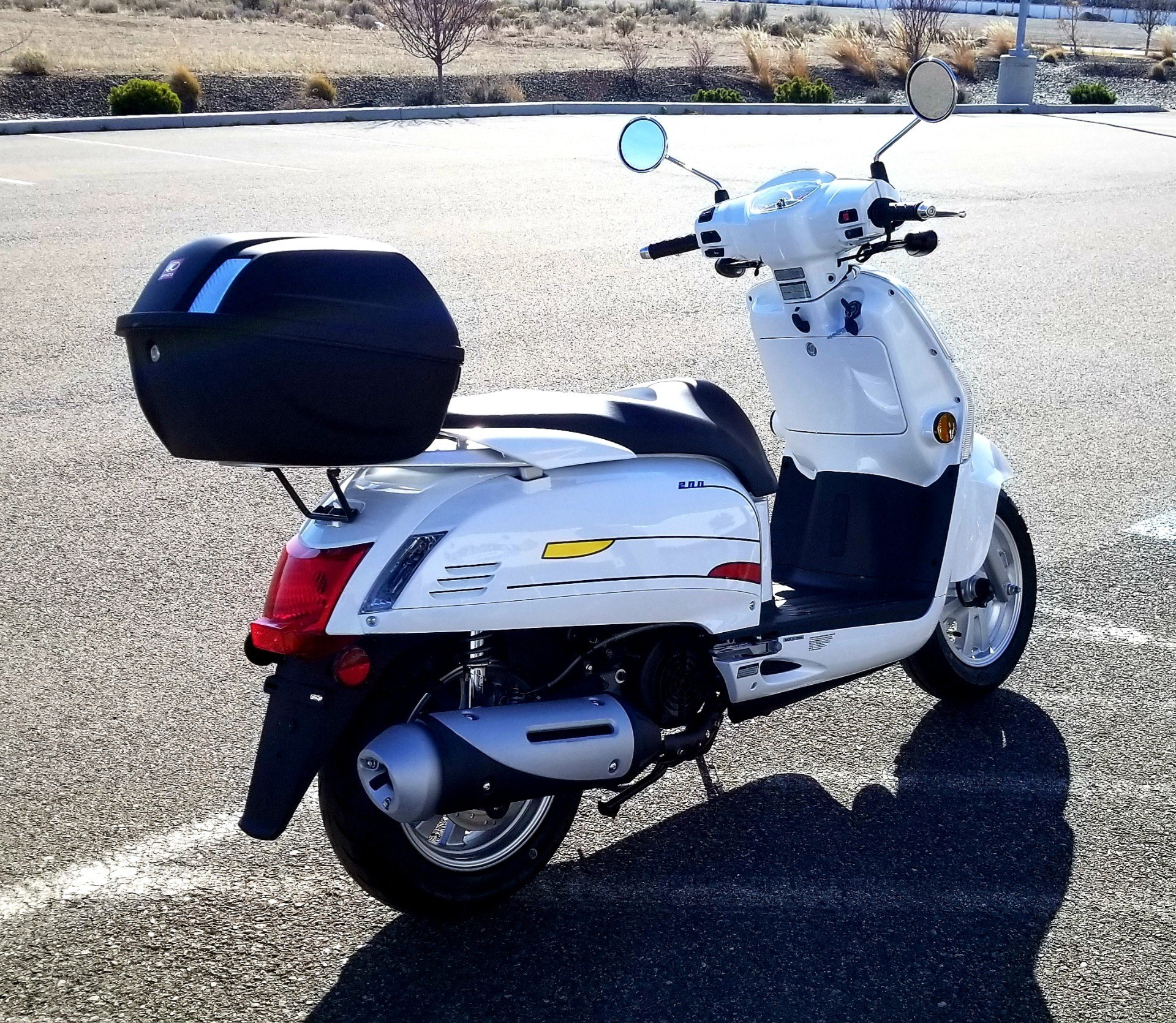 2020 Kymco Like 200i Limited Edition in Pasco, Washington - Photo 4