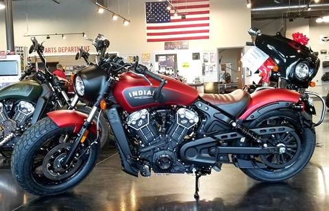 2020 Indian Scout® Bobber ABS Icon Series in Pasco, Washington