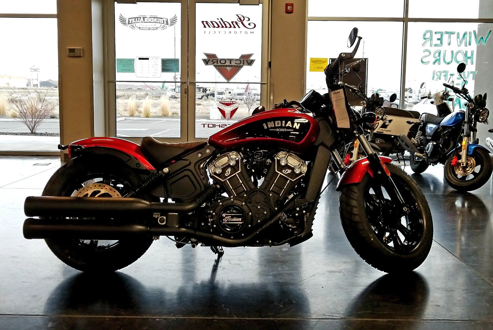 2019 Indian Scout® Bobber ABS Icon Series in Pasco, Washington