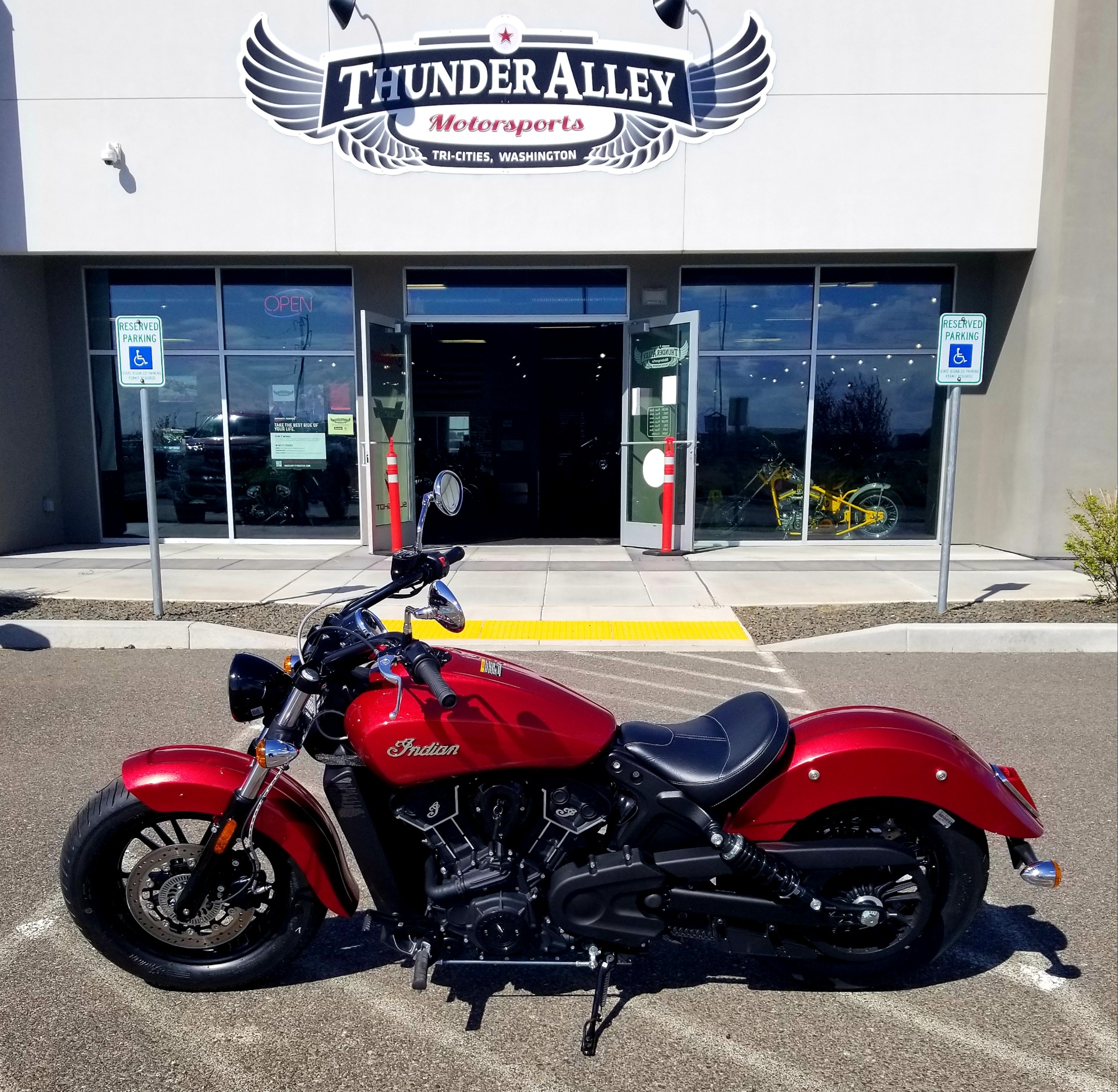2021 Indian Scout® Sixty ABS in Pasco, Washington - Photo 1