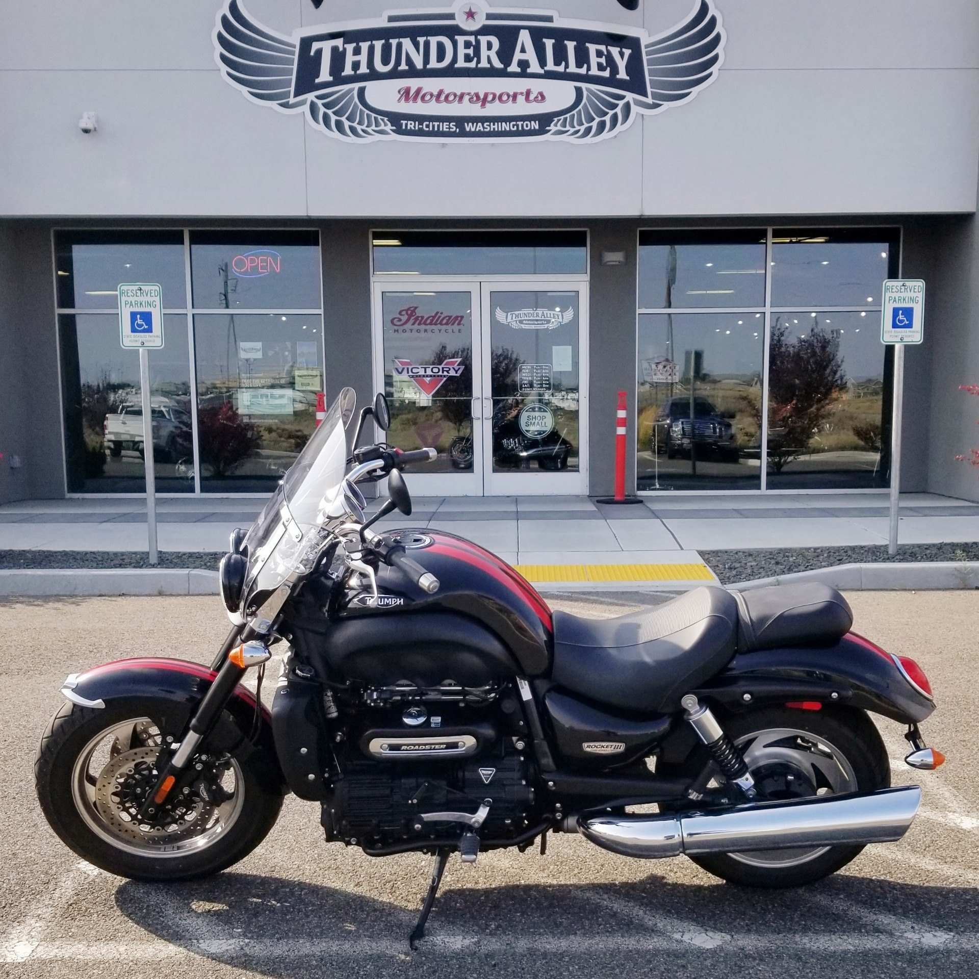 2015 Triumph Rocket III Roadster ABS in Pasco, Washington - Photo 1