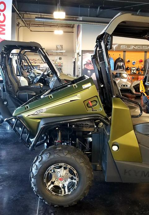 2018 Kymco UXV 450i LE Hunter in Pasco, Washington - Photo 2