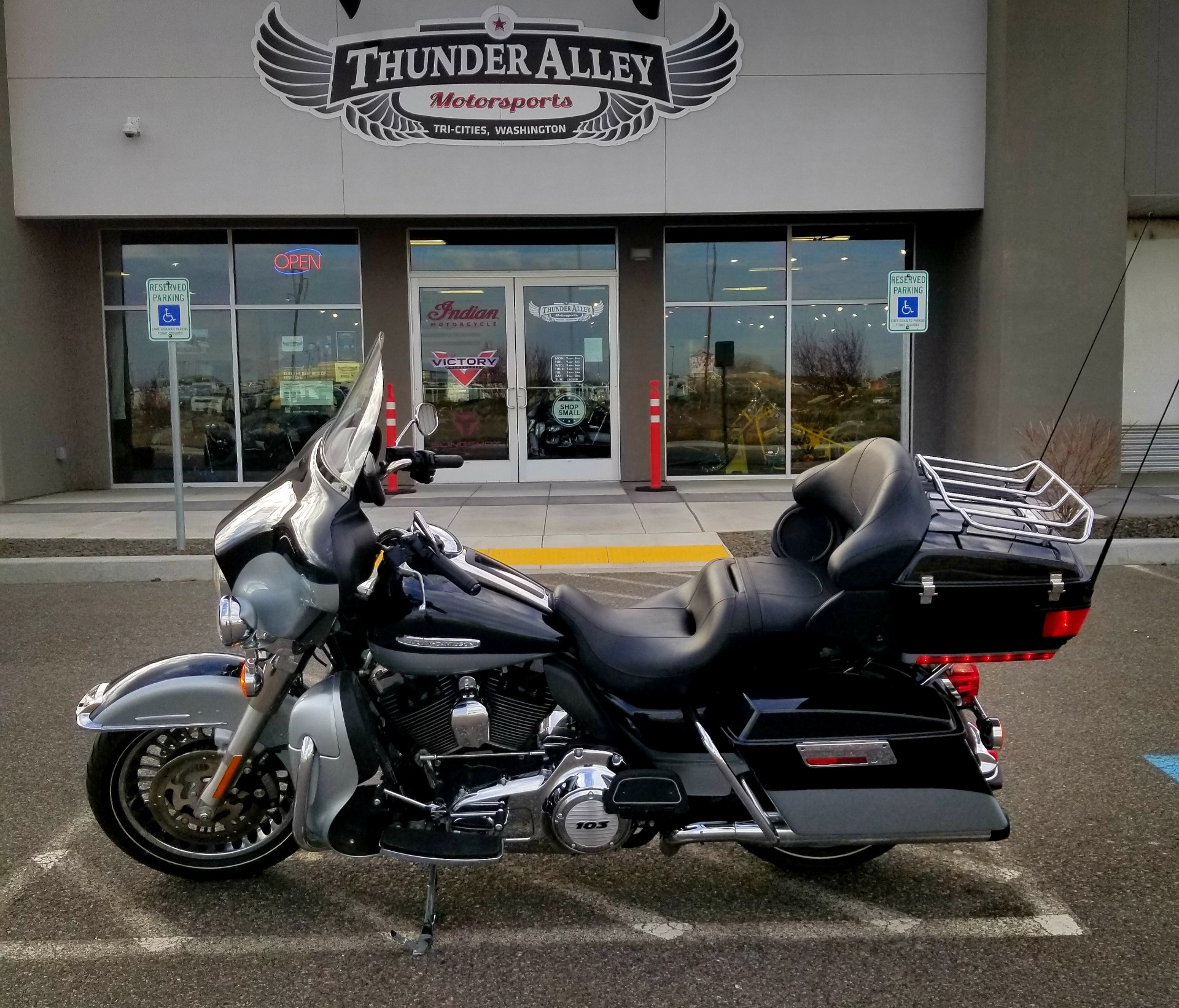 2012 Harley-Davidson Electra Glide® Ultra Limited in Pasco, Washington - Photo 1