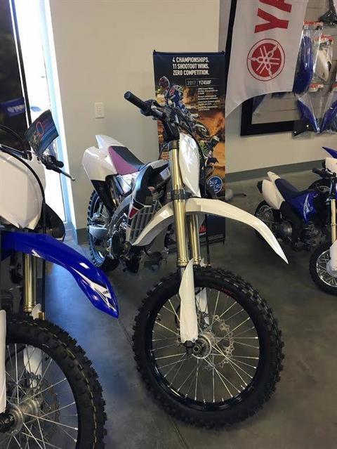 2017 Yamaha YZ450F in Las Vegas, Nevada