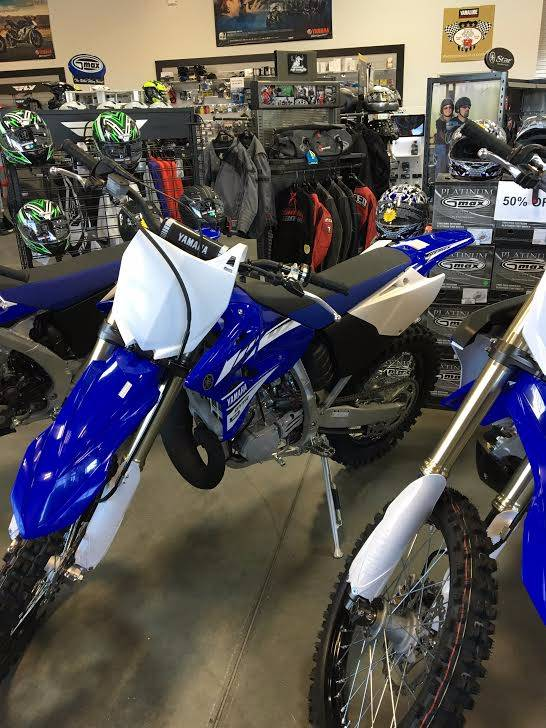 2017 Yamaha YZ250X in Las Vegas, Nevada
