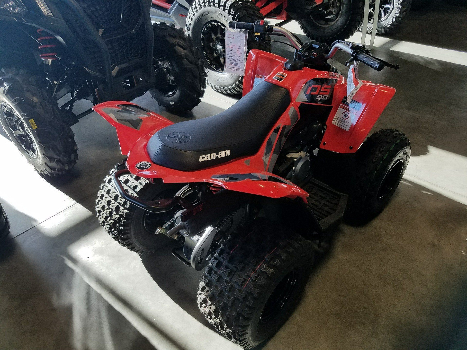 2018 Can-Am DS 90 in Las Vegas, Nevada