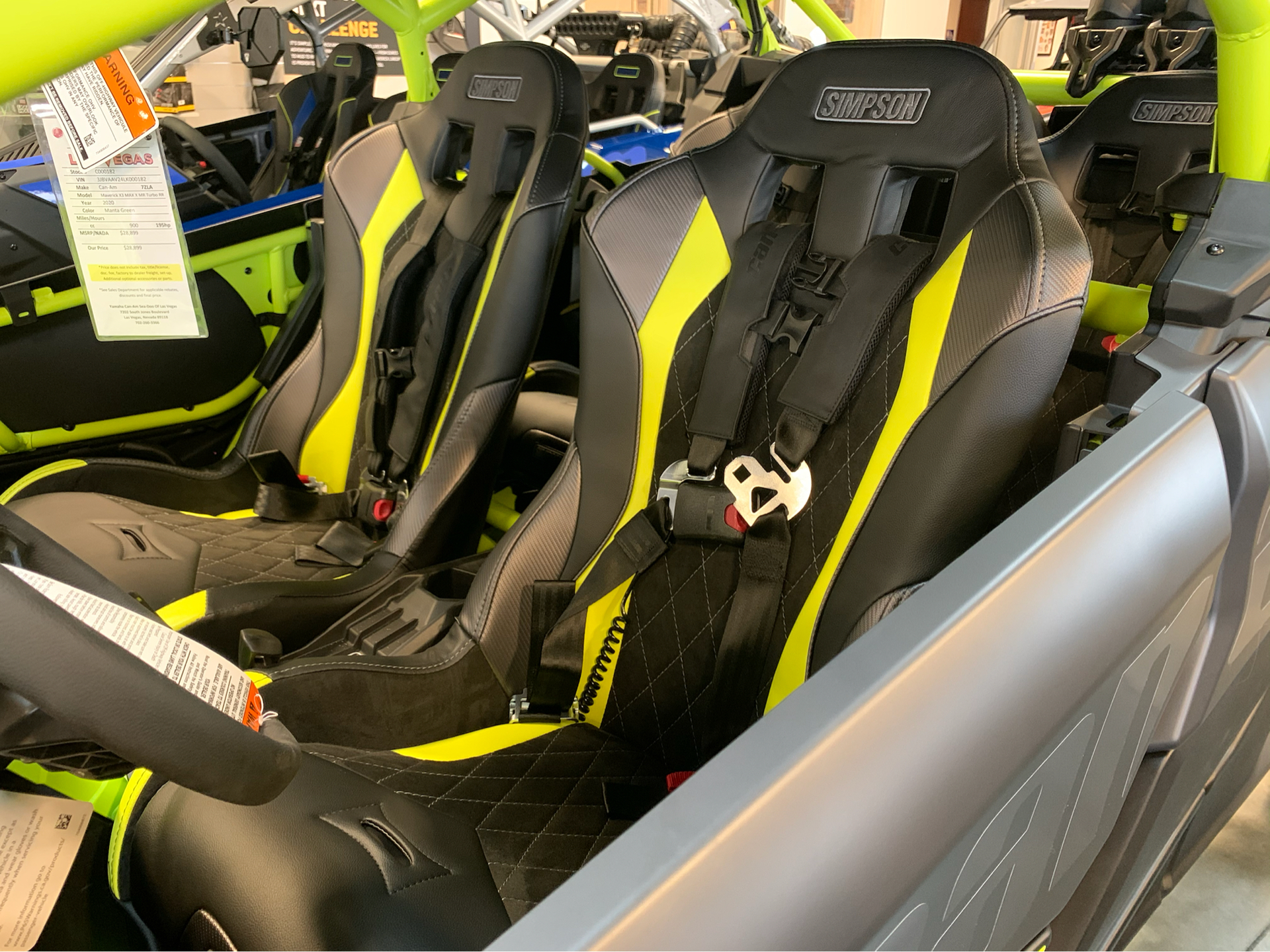 2020 Can-Am Maverick X3 MAX X MR Turbo RR in Las Vegas, Nevada - Photo 8