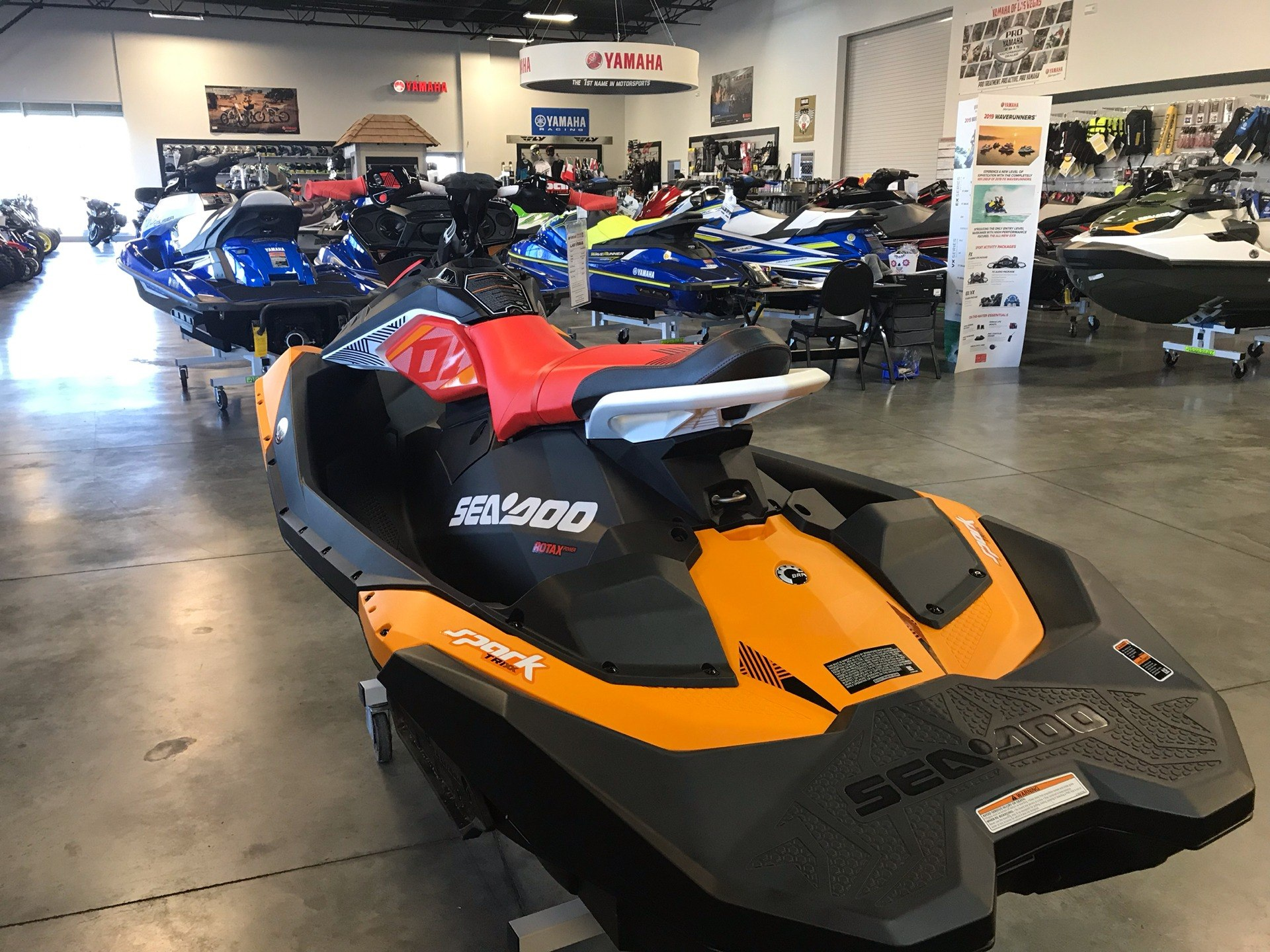 2019 Sea-Doo Spark Trixx 2up iBR + Sound System in Las Vegas, Nevada - Photo 3