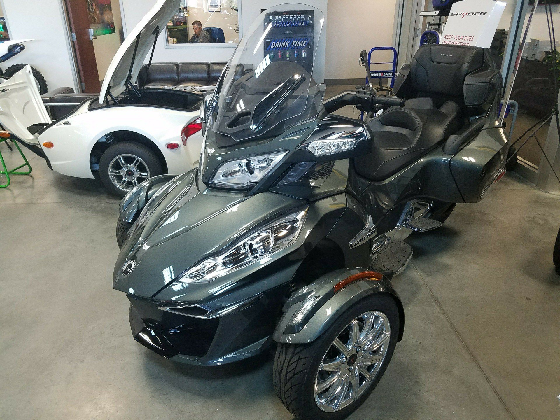 2017 Can Am Spyder Rt Limited In Las Vegas Nevada